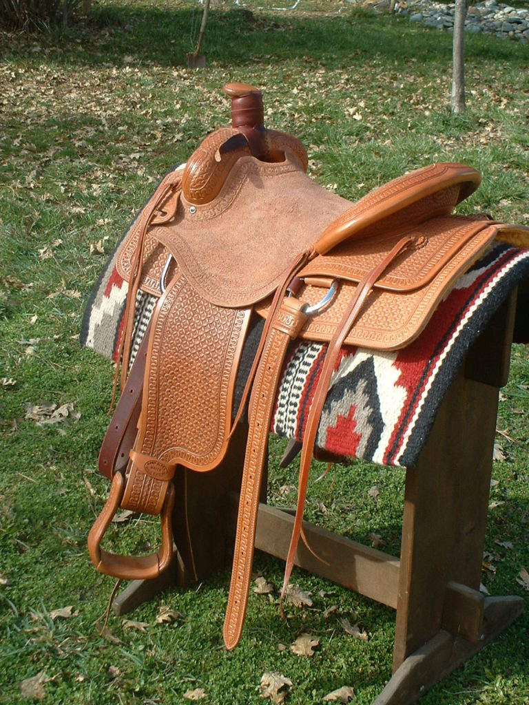 Cammie's saddle